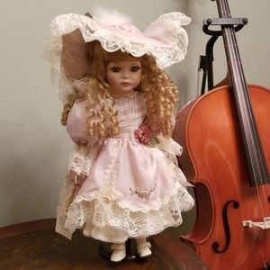 Victorian Beautiful Porcelain Doll Show Stoppers